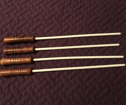 several 3/8 inch delrin canes